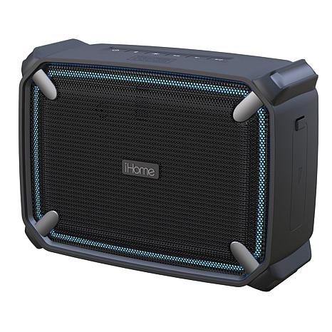 iHome iBT374 Weather Tough Portable Bluetooth Speaker