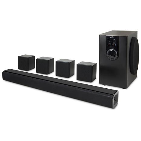 """iLive 5.1 Channel Home Theater with 32"""" Soundbar and Subwoofer"""