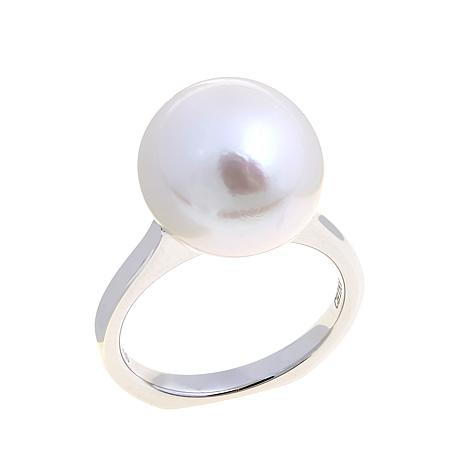 Imperial Pearls 12-13mm Cultured Pearl Cathedral Ring