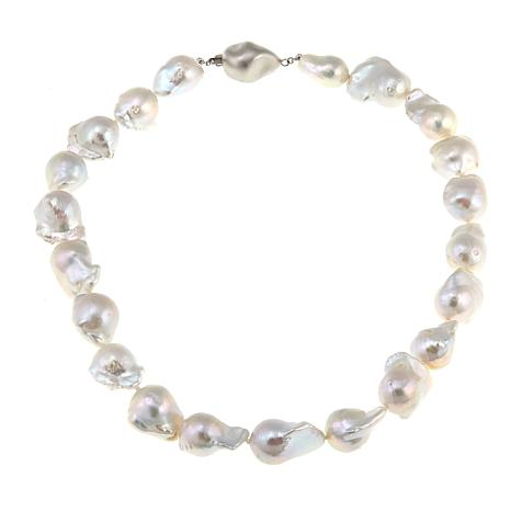 Imperial Pearls 15-17mm Cultured Barqoue Pearl Necklace