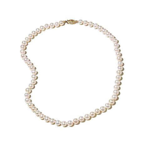 "Imperial Pearls 6-6.5mm Cultured Pearl 14K 16"" Necklace"