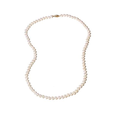 "Imperial Pearls 6-6.5mm Cultured Pearl 14K 24"" Necklace"