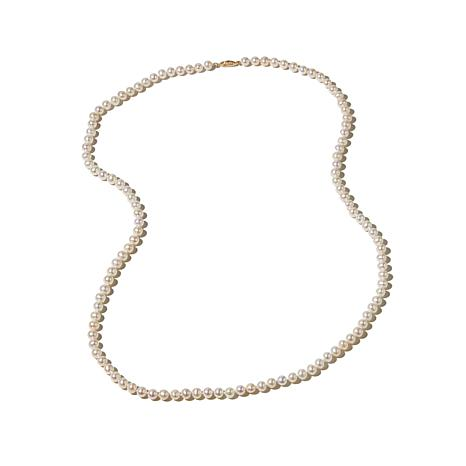 "Imperial Pearls 6-6.5mm Cultured Pearl 14K 30"" Necklace"