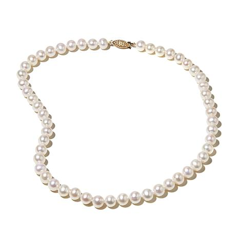 "Imperial Pearls 8-8.5mm Cultured Pearl 14K 18"" Necklace"
