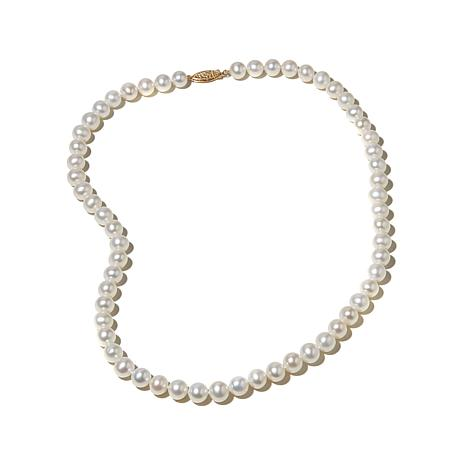 "Imperial Pearls 8-8.5mm Cultured Pearl 14K 20"" Necklace"