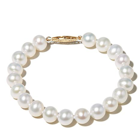 "Imperial Pearls 8-8.5mm Pearl 8-1/2"" Bracelet"