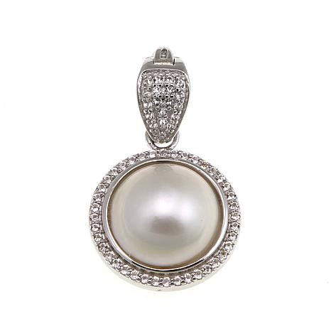 Imperial Pearls Cultured Mabé Pearl Pendant