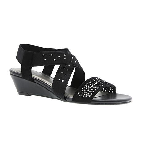 IMPO Gladiola Laser-cut Stretch Sandal