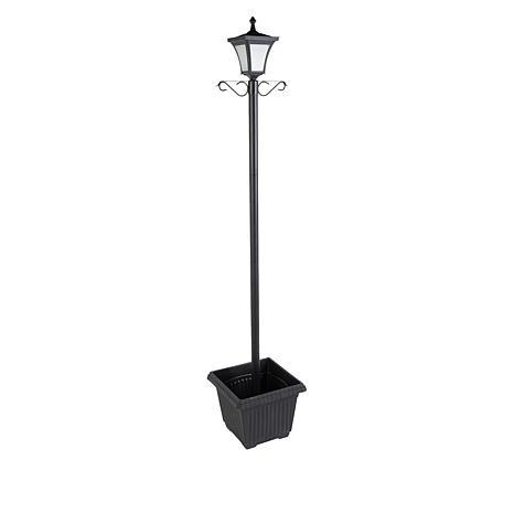 Improvements Solar Lamp Post with Planter
