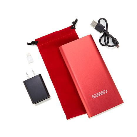 instaCHARGE 6,600 mAh Rapid Portable Charger with Pouch