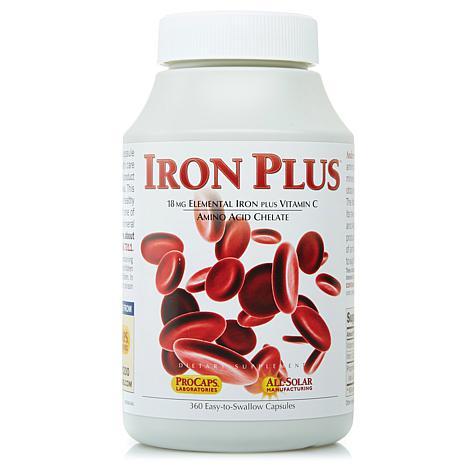 Iron Plus - 360 Capsules