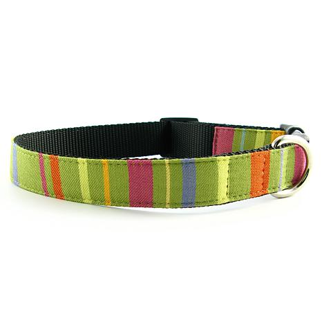 Isabella Cane Abbington Dog Collar - Lime XS