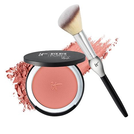 IT Cosmetics Bye Bye Pores Poreless Blush w/Brush Naturally Pretty