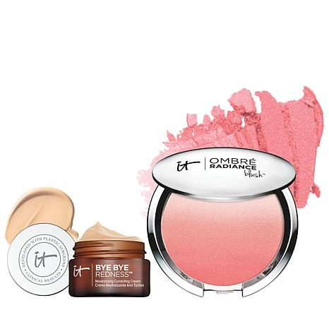 IT Cosmetics Bye Bye Redness Cream and Blush Set