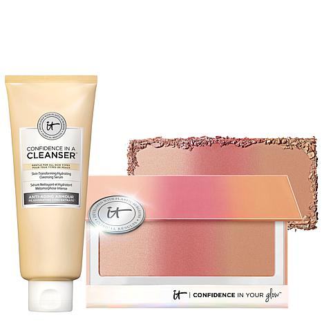IT Cosmetics Confidence in a Cleanser and Bronzer Set
