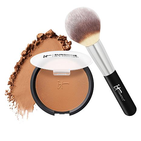 IT Cosmetics Sunshine in a Compact Bronzer with Brush