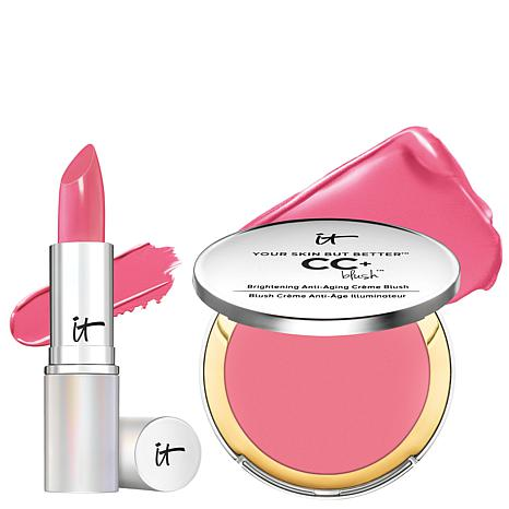 IT Cosmetics Your Perfect Pink Blush and Lipstick Set