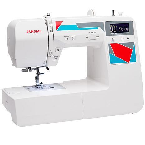 Janome MOD-100 Quilting and Sewing Machine with Accessories