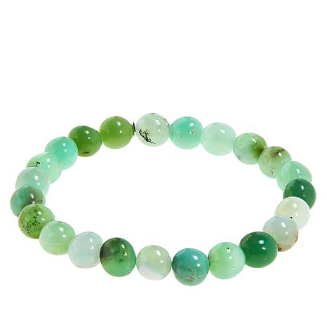 Jay King Chrysoprase Bead Stretch Bracelet