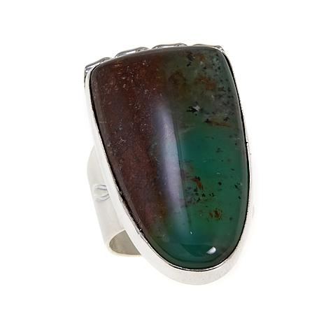 Jay King Chrysoprase Stone Sterling Silver Ring