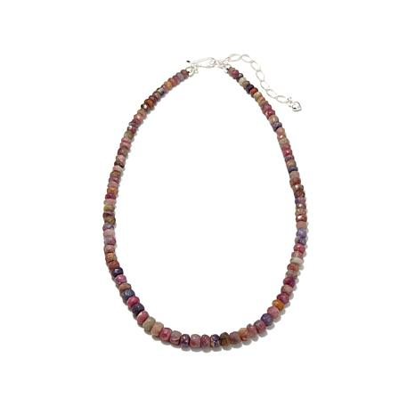 "Jay King Frosted Rainbow Tourmaline 18-1/4"" Necklace"