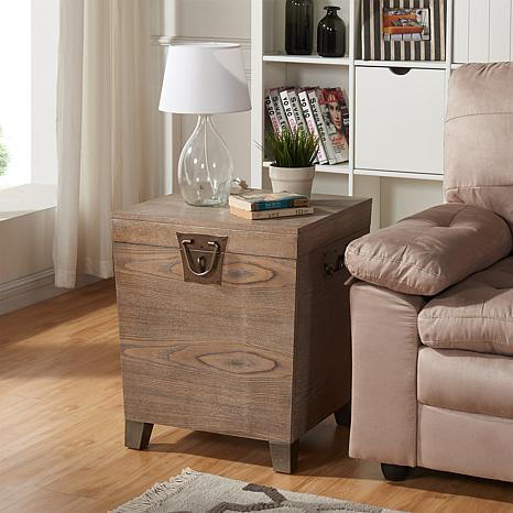 Awesome ... Jayce Pyramid Trunk End Table ...