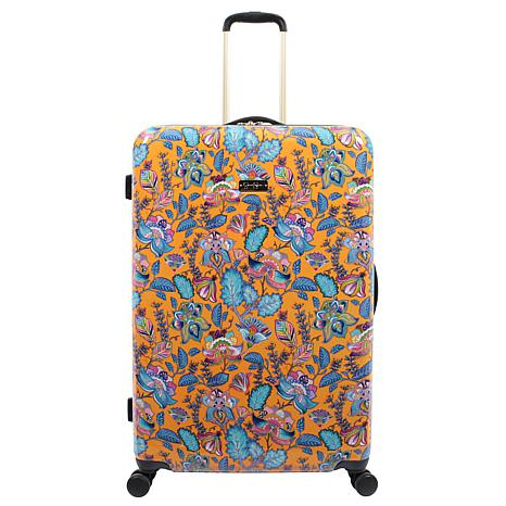 Jessica Simpson Floral Paisley 29-inch Hardside Spinner in Tumeric