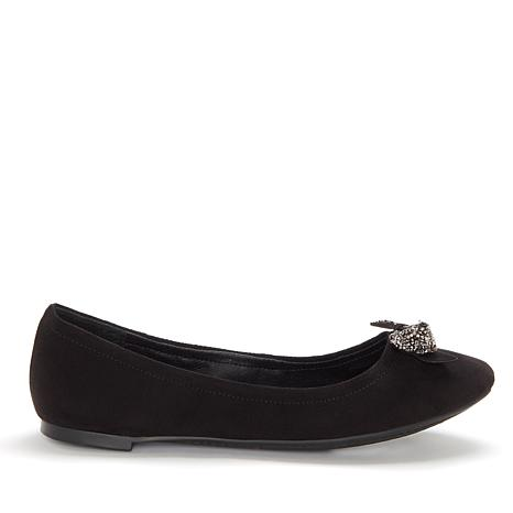 Jessica Simpson Neverly Ballet Flat with Studded Bow