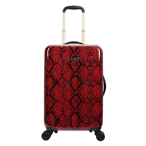 Jessica Simpson Python 20-inch Hardside Spinner in Red
