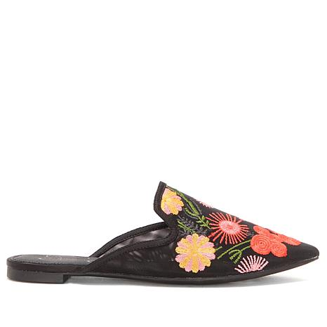 Jessica Simpson Zander Embroidered Mesh Mule