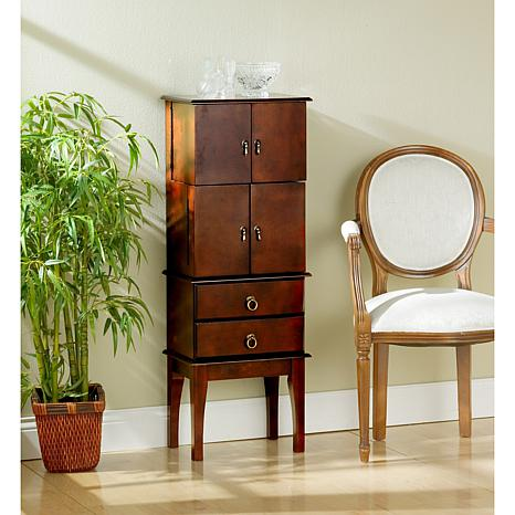 Jewelry Armoire - Cherry