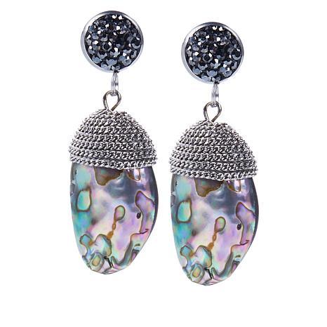 JK NY Multi-color Simulated Shell  Drop Earrings