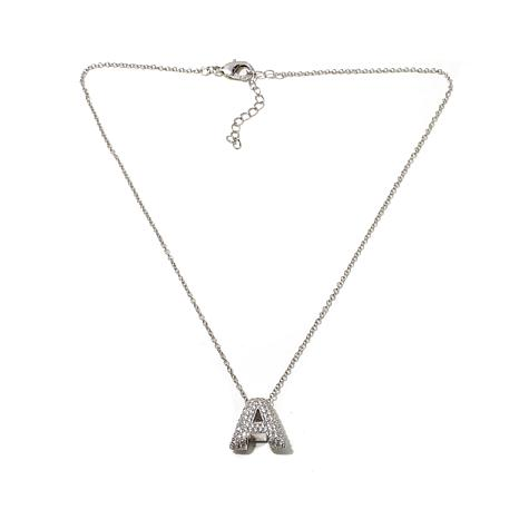 "Joan Boyce ""Alphabet City"" Initial Pendant with Chain"