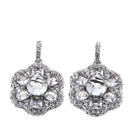 Joan Boyce Larra S An Evening Out Clear Drop Earrings