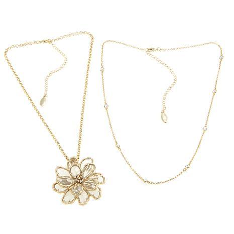 "Joan Boyce ""Springtime Blooms"" Flower Pin/Pendant"