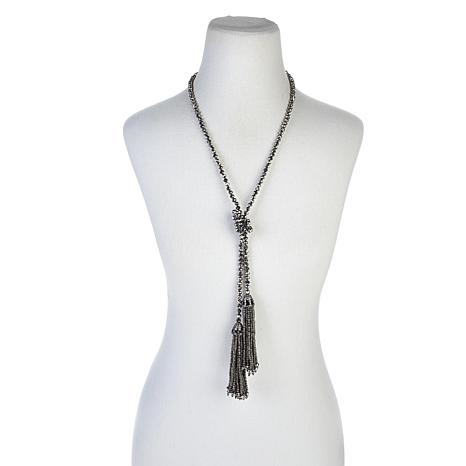 "Joan Boyce ""Terrifically Tasseled"" Lariat Necklace"
