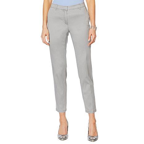 Jones NY Grace Cotton Ankle Pant - Missy
