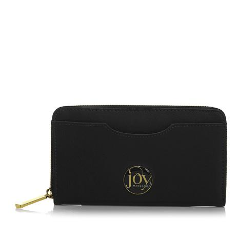 JOY E*Lite Couture Genuine Leather Wallet with RFID