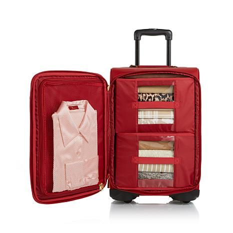 JOY Rich Leather Luggage Ensemble with Revolutionary Spinball ...