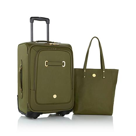 976bab71ad93 JOY Rich Leather Luggage Ensemble with Revolutionary Spinball™ Wheels -  8205713