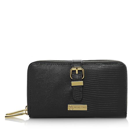 JOY Luxe Leather Lizard-Embossed City Collection with RFID