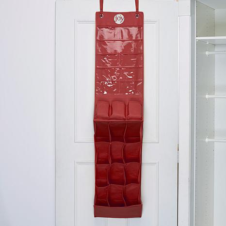 JOY Over-the-Door Pocket Shoe Organizer - Silver