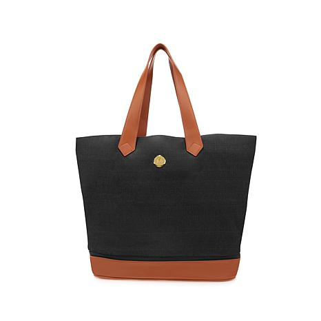 JOY Smart   Chic Expandable Canvas Tote with RFID Security - 8425163 ... b2384adf470c0