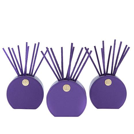JOY Smart & Chic Forever Fragrant® Set w/Saffiano Vases