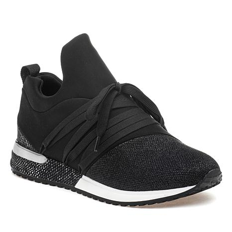 J/Slides NYC Zorro Lace-Up Slip-On Sneaker