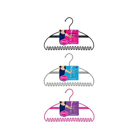 Just Solutions Hang It 3pack Large Jewelry Organizers 7705365 HSN