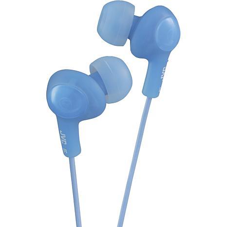 JVC Gumy Plus Inner-Ear Earbuds - Blue