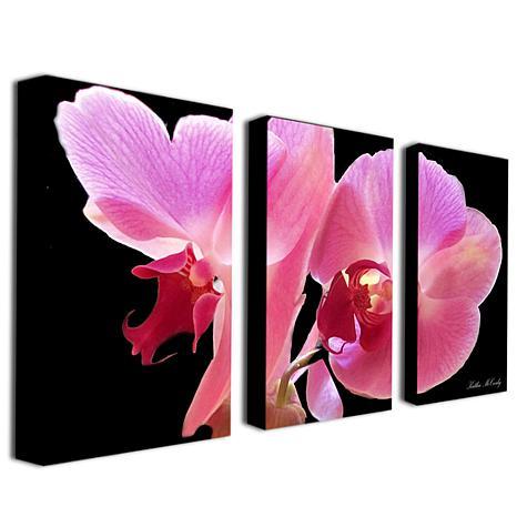 """Kathie McCurdy """"Orchid"""" Giclée-Print Set"""