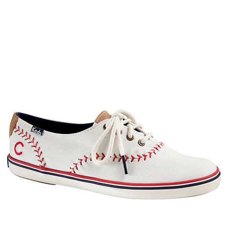 992f641ebffc0c Keds Champion Pennant Canvas Sneaker - MLB Cubs - 8785576 | HSN