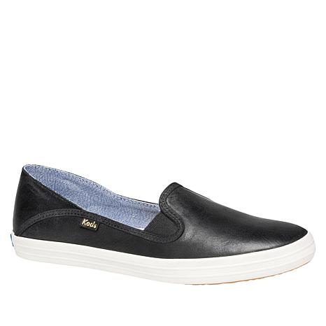 Keds Crashback Burnished Leather Slip-On Sneaker